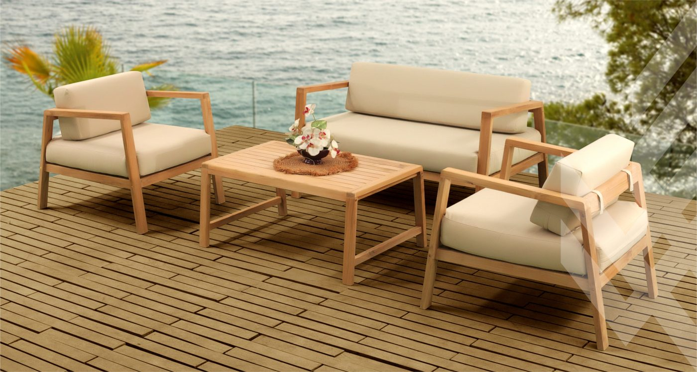 Teak Modern Living Outdoor Furniture