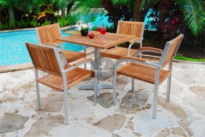 Alloy Casting Jacko Dining Arm Set