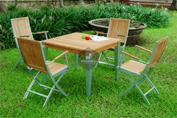 Alloy Casting Madonna Dining Arm Set